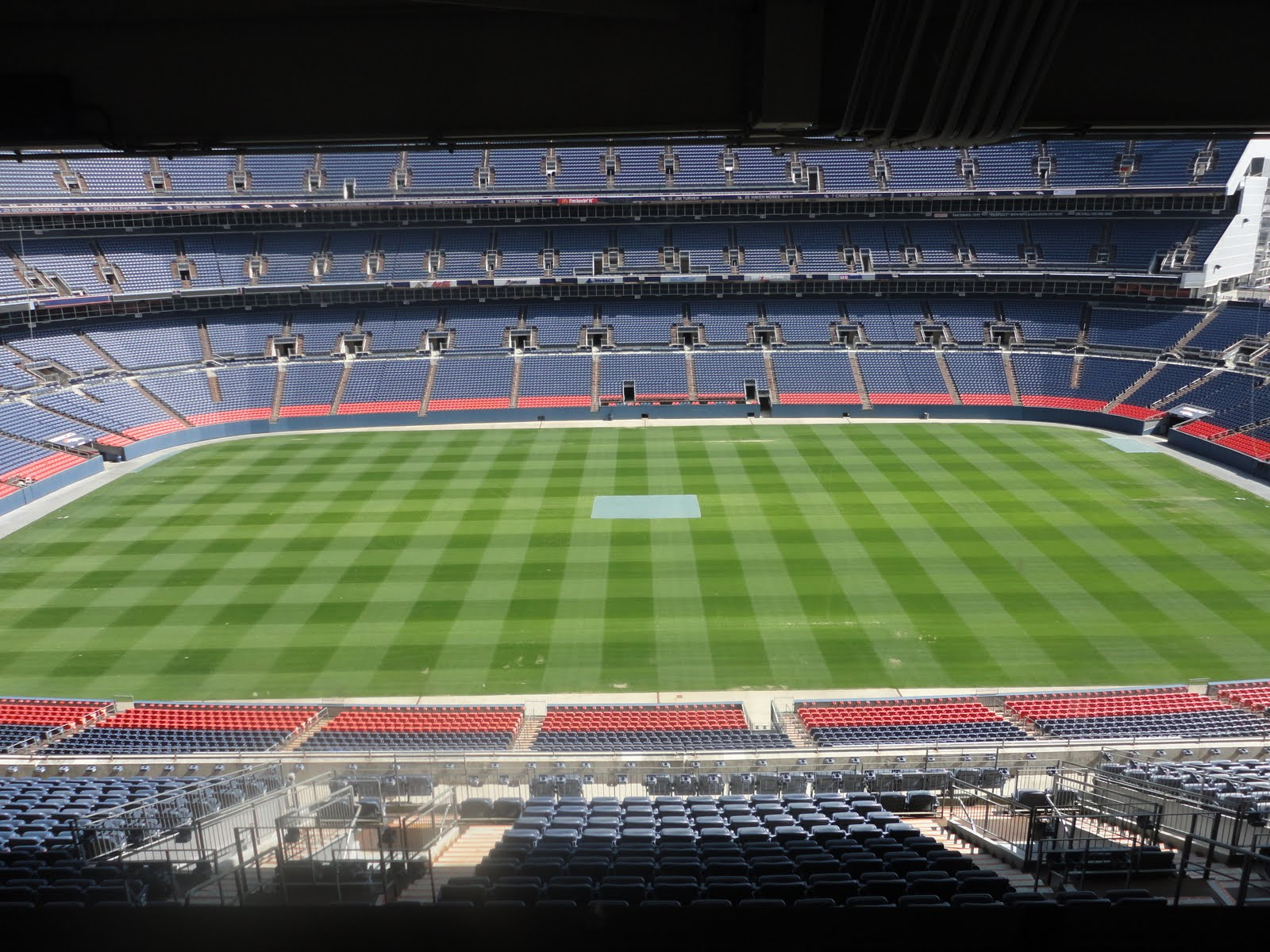 Curiosity And Conversation With Carri Invesco Field Tour