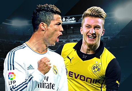 موعد مباراة ريال مدريد وبروسيا دورتموند اليوم الاربعاء 7/12/2016, في دوري ابطال اوروبا