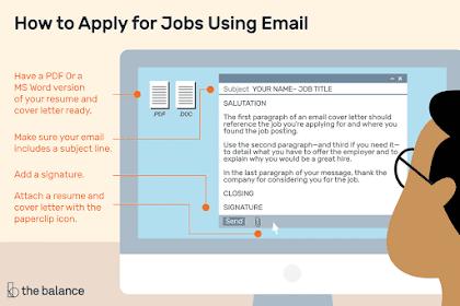 7 Trik Agar Mudah Diterima Kerja Melalui Lamaran E-Mail