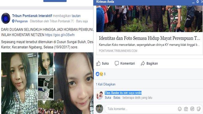 Ibu Muda Tewas Tanpa Busana Bersama Pria Lain, Tulisan Suami di Facebook Bikin Heboh