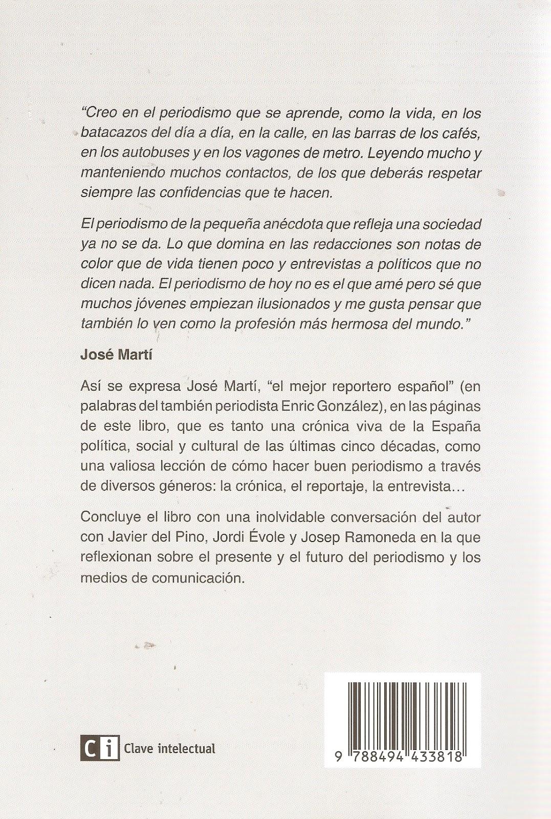 Andamios (y la vida sigue): Recuerdos y reflexiones de un periodista