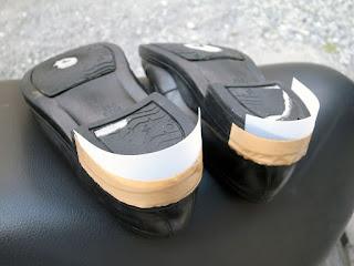 セメダイン シューズドクターNで靴底の盛盛補修7