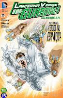 Os Novos 52! Lanterna Verde - Os Novos Guardiões #25