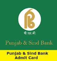 Punjab & Sind Bank Admit Card
