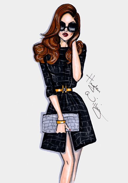 Hayden Williams Fashion Illustrations 'black Magick'