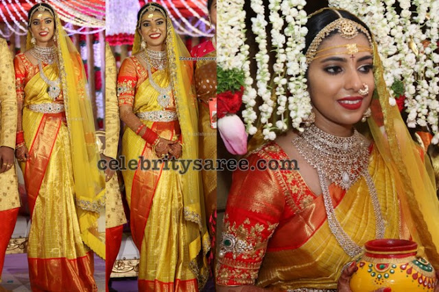 Nidhi Wedding Saree