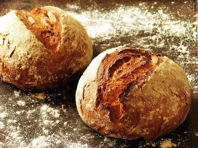 recette de pain bio, seigle, froment, café de céréales