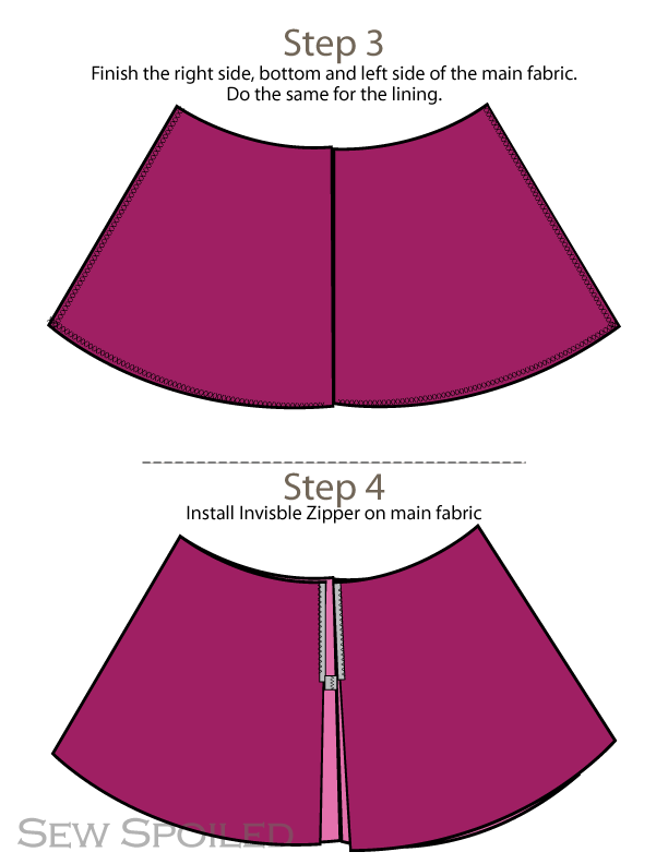 Aline Skirt Pattern 26