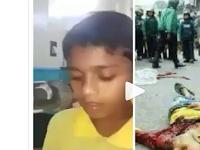 Tragis! Alunan Ayat Suci yang Merdu dari Bocah Ini Tinggal Kenangan Karena Tentara Myanmar