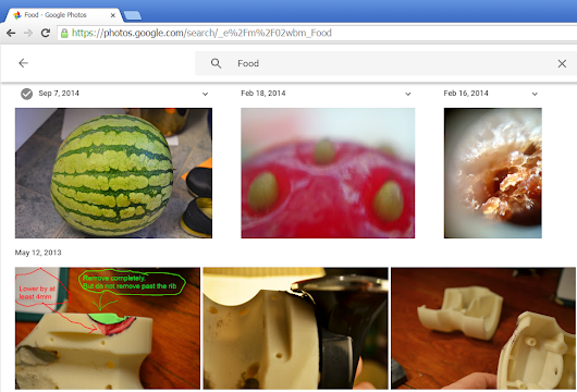 Google's Food Detection Algorithm is Not Bad