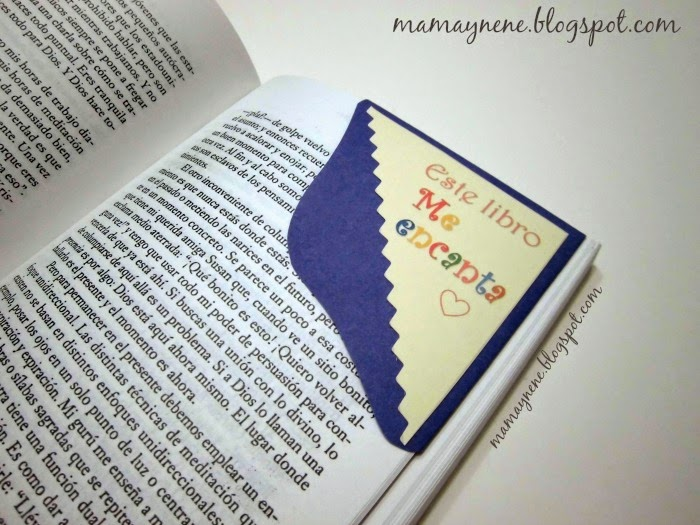 MARCAPAGINAS-BOOKMARK-MESSAGES-DIY