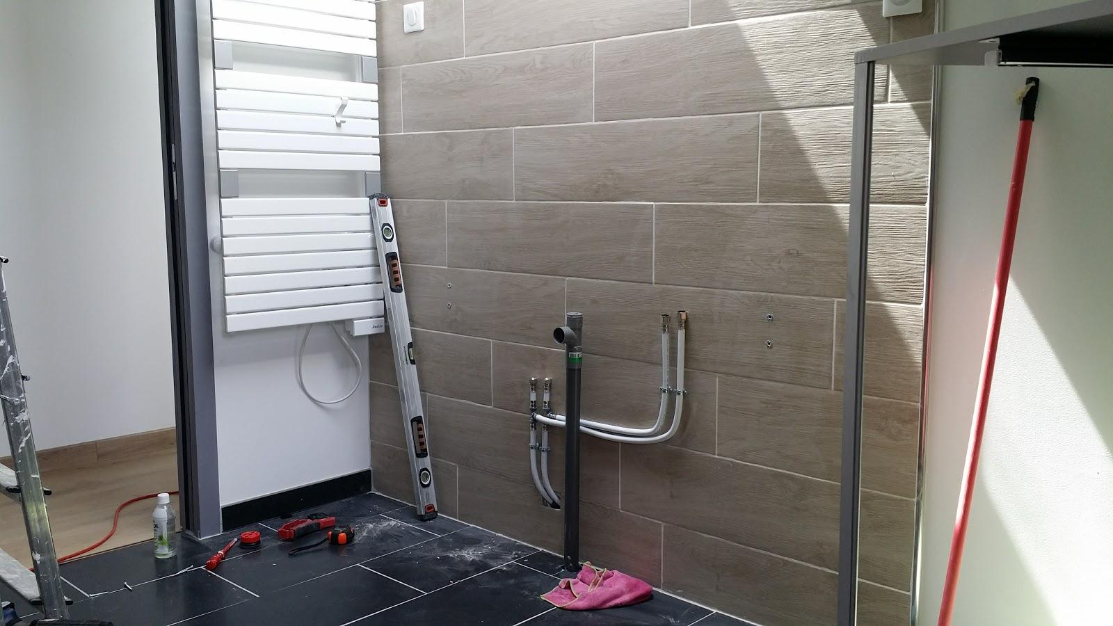 Evacuation Salle De Bain la renaissance de l'atelier: salle de bain : montage du