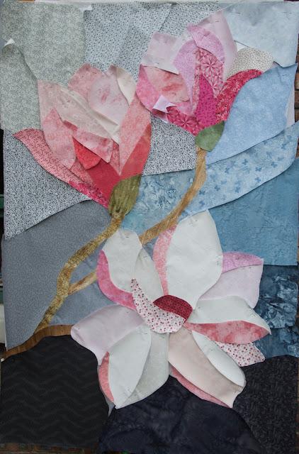 magnolias quilt