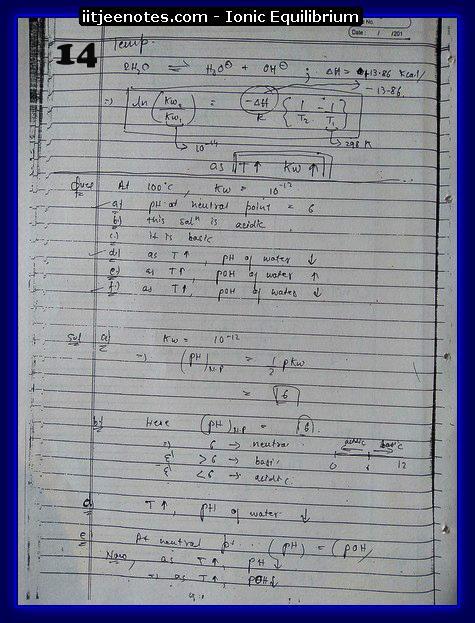 Ionic Equilibrium14