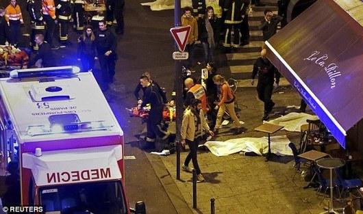 Estado Islámico ataca París, Francia