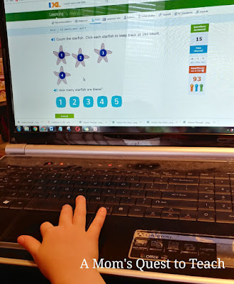 Counting with IXL.com