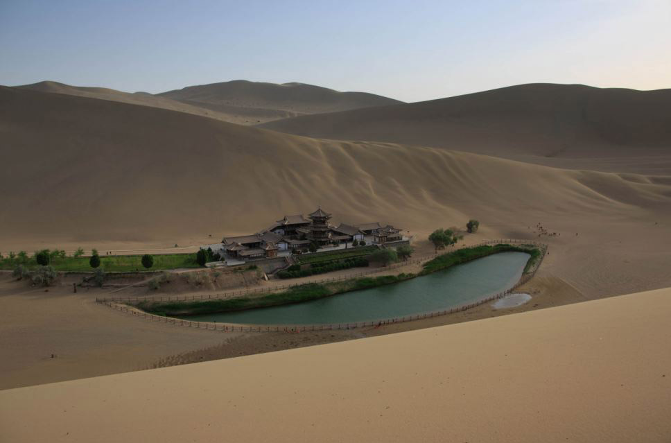 PEPLUM TV: Location : Real Desert Oasis