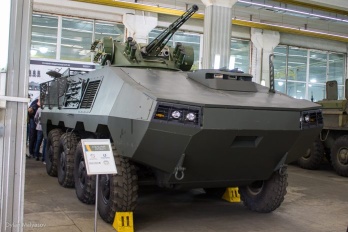 Otaman wheeled armoured vehicle Ukrainian Military Pages