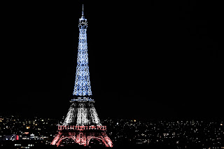 La Torre Eiffel iluminada