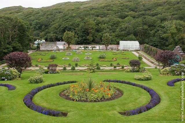 Kylemore Abbey Connemara Galway Irlanda