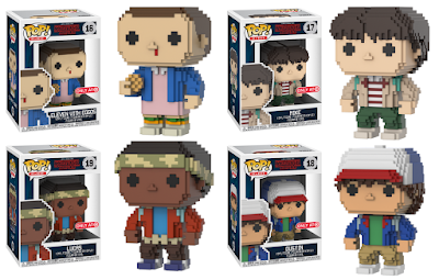 Target Exclusive Stranger Things 8-bit Pop! Vinyl Figures by Funko