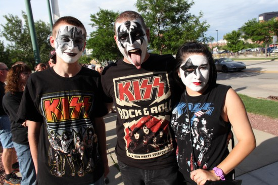 Kiss Face Paint Characters