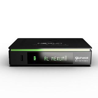Alphasat Nexum Primeira Atualização - 18/07/2018