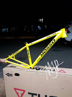 Frame Mosso 7590 MSL PRO yellow