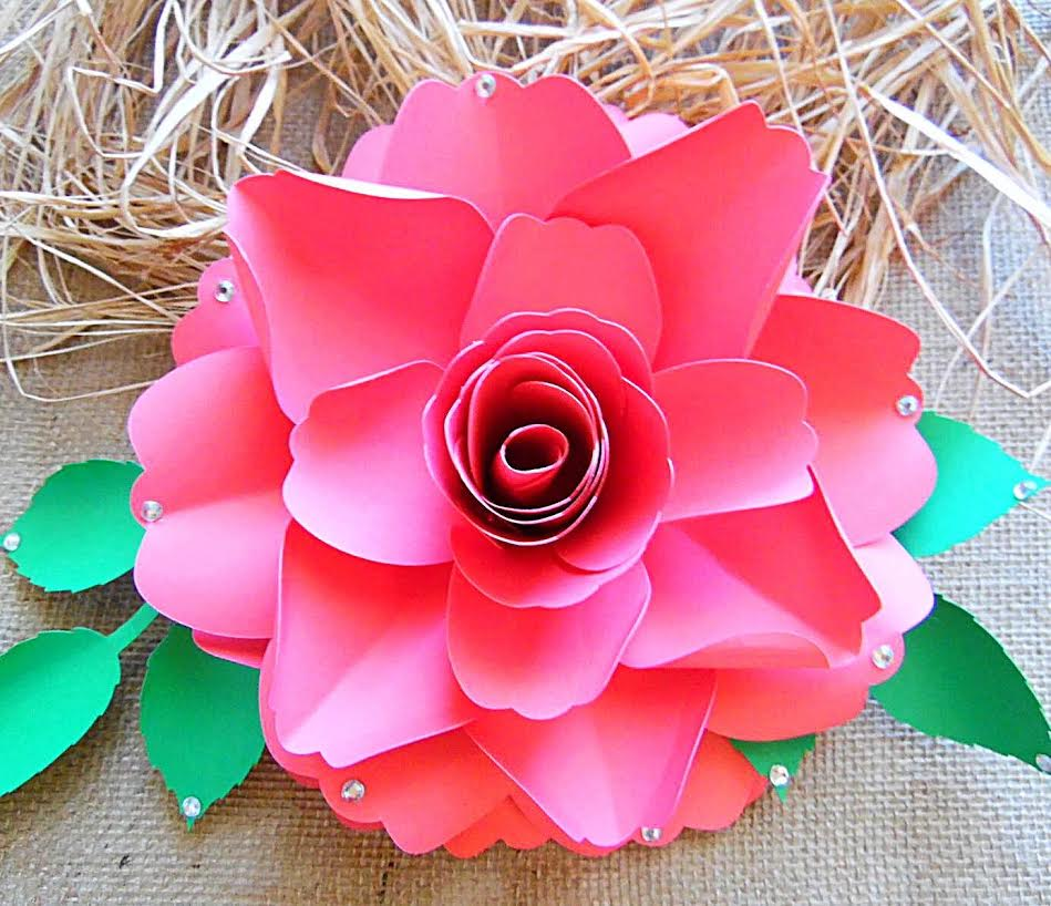 How to make paper roses easy step by step tutorial easy paper rose tutorial mightylinksfo