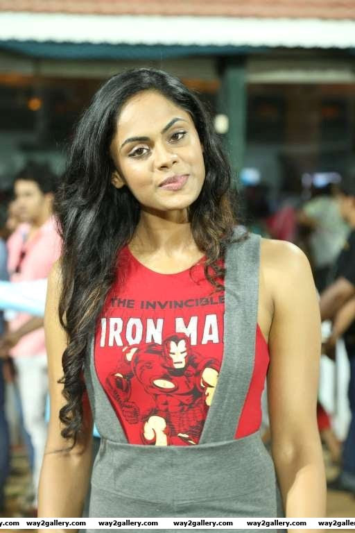 Karthika Nair briefly turned commentator for the celebrity cricket tournament