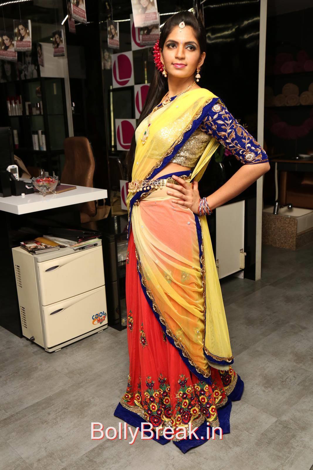 Anusha Pics, Anusha Hot Pics from Bridal Dream Make up At Lakme Salon