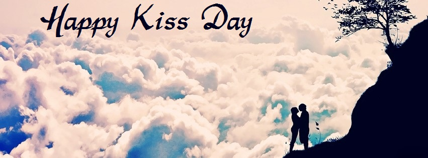 Happy Kiss Day 2016 Facebook Timeline Cover