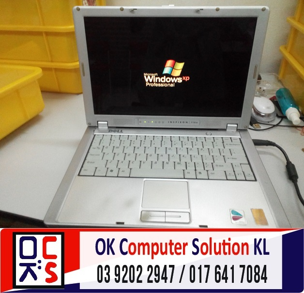 [SOLVED] HARD DISK ROSAK DELL INSPIRON | REPAIR LAPTOP CHERAS 5