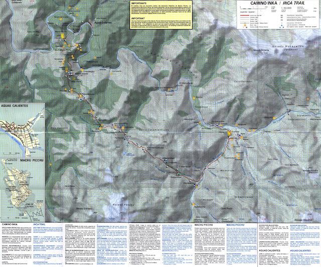 Inca Trail ( Machi Picchu ) - 50 000