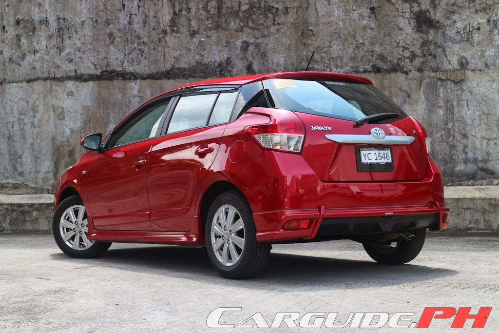 toyota yaris trd philippines oli grand new avanza review 2014 1 3 e philippine car news reviews automotive features and prices carguide ph