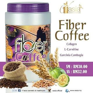 Fiber coffee vasia