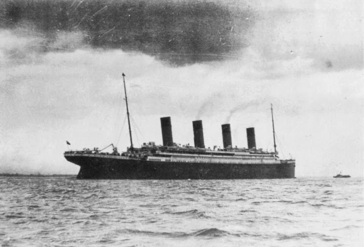 Image result for last known photo of titanic