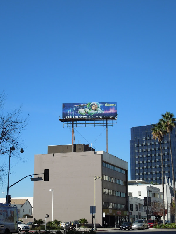 Disneyland World of Color billboard