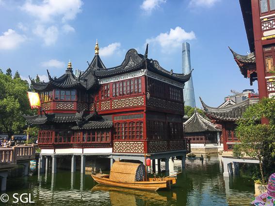 Mercado de Yuyuan de Shanghai