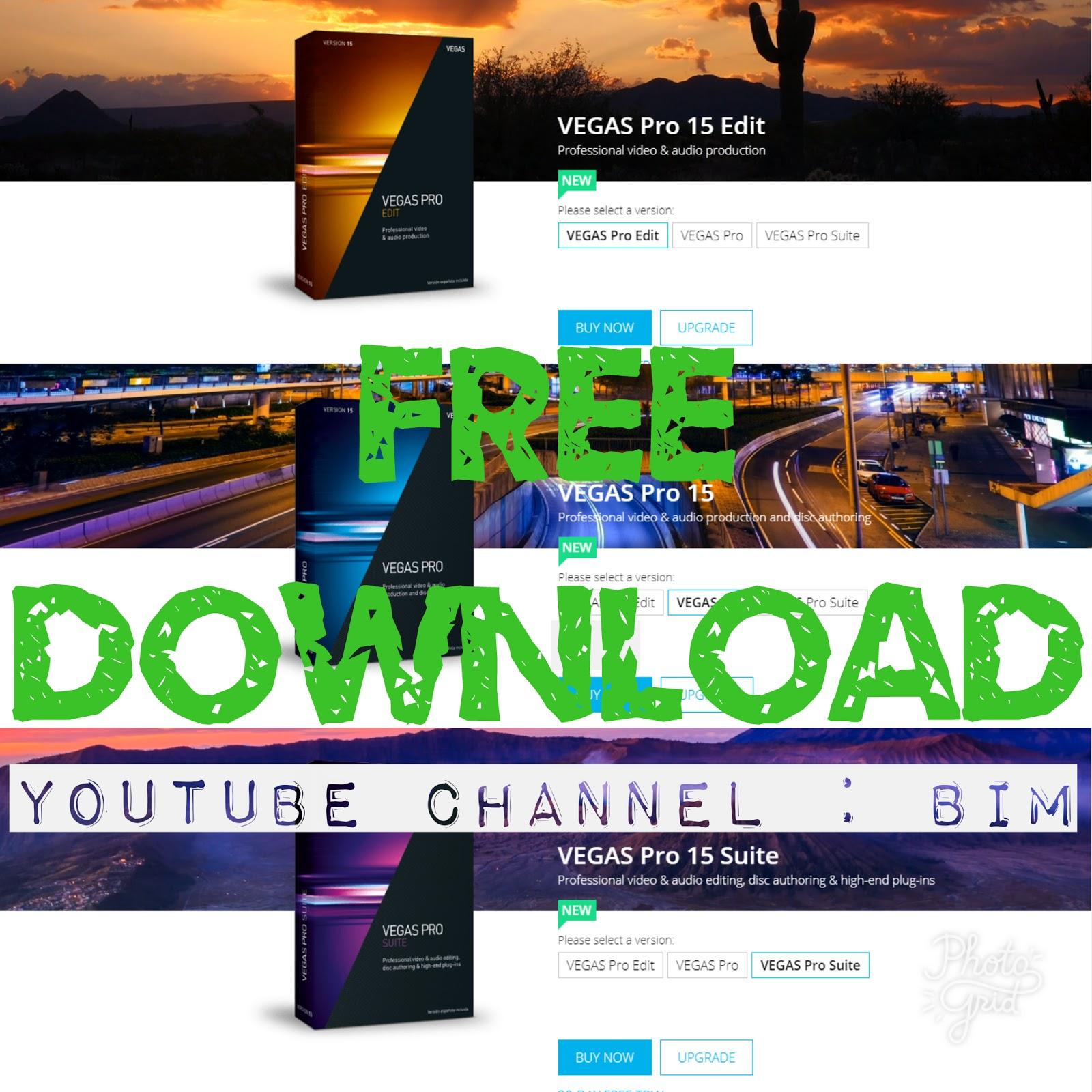 vegas pro 16 suite free download