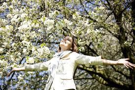 poemas+primavera+flores+mujer