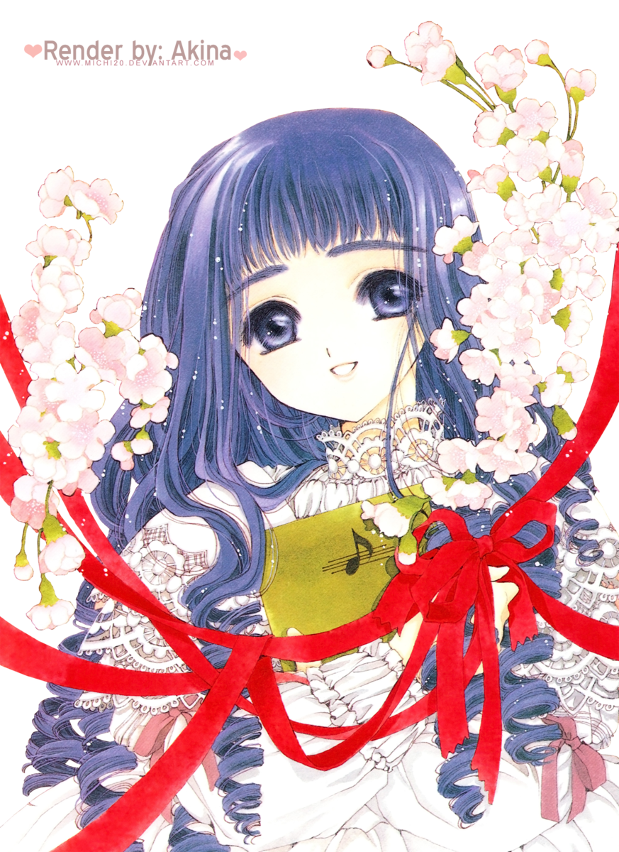 Render Tomoyo + Sakura Card Captor