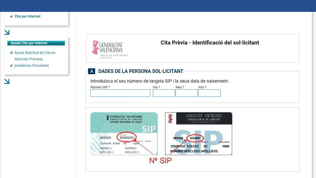 Castellnovo cita previa en el consultorio de castellnovo - Para pedir cita para el medico de cabecera ...