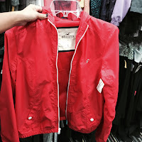 Lauren Banawa, May Moments of the Month, red hollister jacket