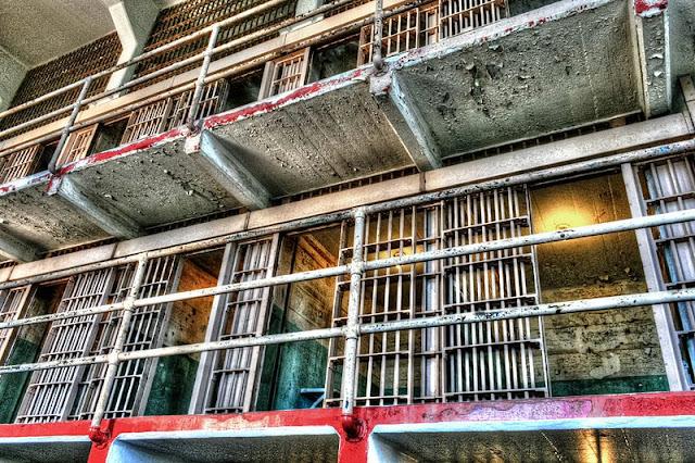 old jail at Alcatraz Island
