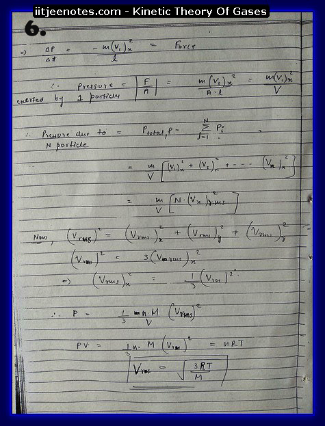 Kinetic Theory Of Gases6