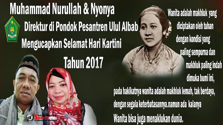 Direktur di Pondok Pesantren Ulul Albab,Ucapkan Selamat Hari Kartini 2017