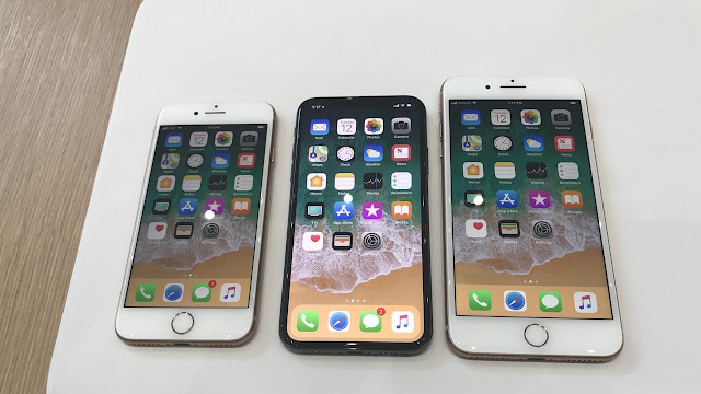 iPhone 8 dan iPhone X Mulai Dijual Resmi di Indonesia