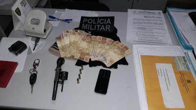 9º BPM prende dupla de assaltantes em Damião-PB