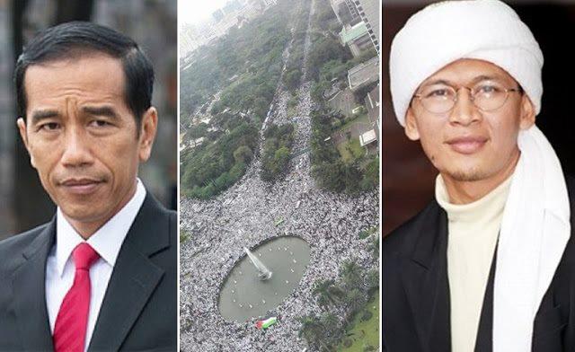 Presiden Tak Temui Perwakilan Aksi Demo, Begini Komentar Aa Gym